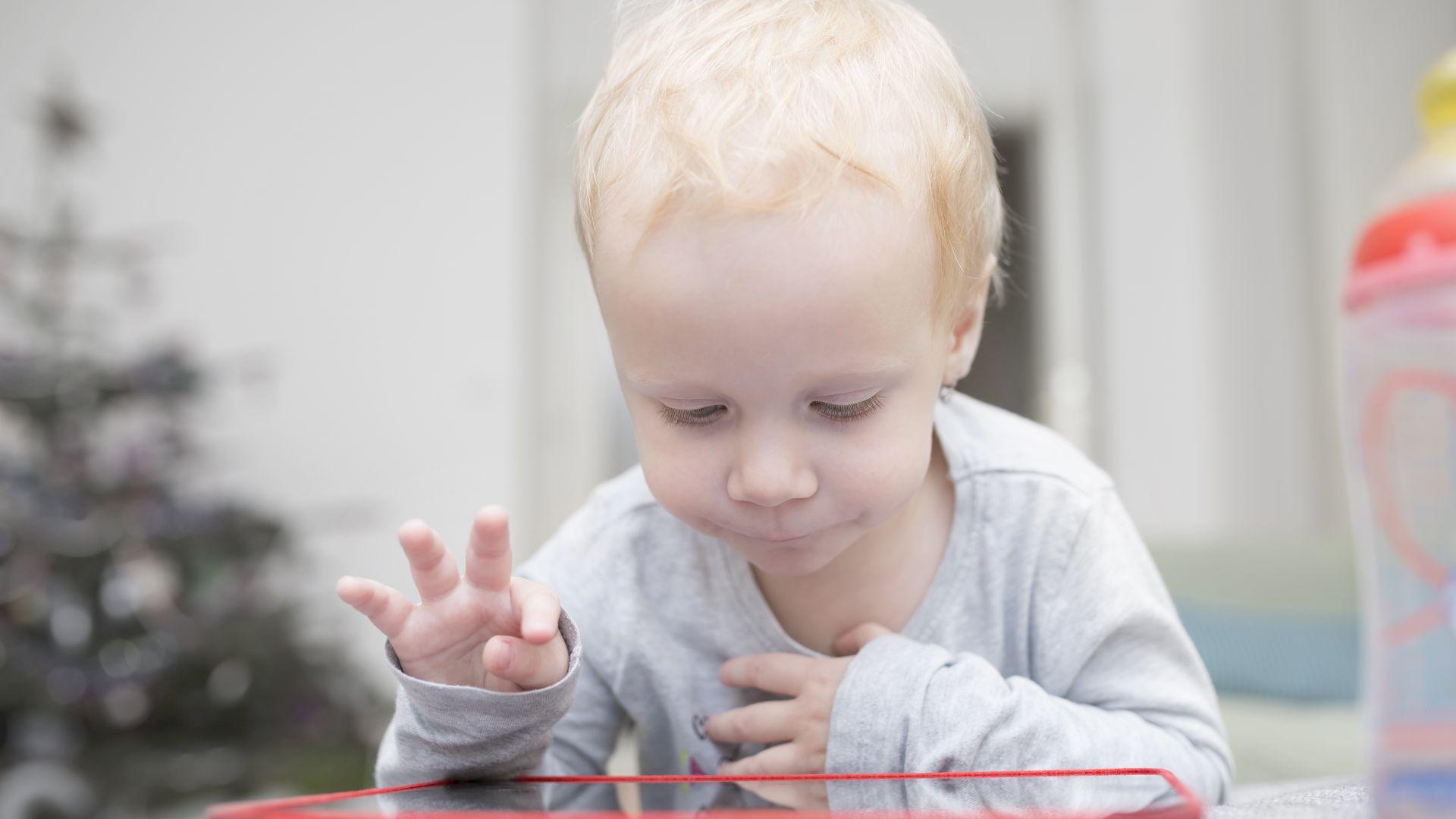 На децата на възраст между 2 и 4 години не