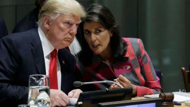 Изненада в Белия дом - Ники Хейли подаде оставка, Тръмп я прие