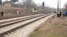 Пътнически влак прегази легнала на релсите 23-годишна жена