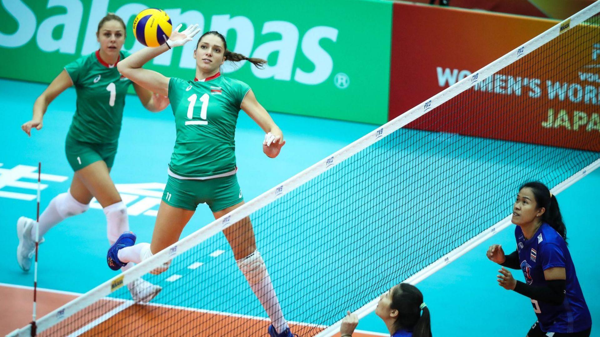 Волейболистките измъкнаха победа над Тайланд в маратонски мач
