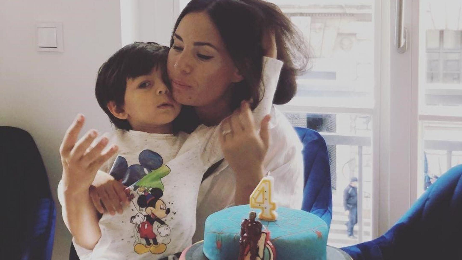 Соня Йончева отпразнува 4-тия рожден ден на сина си в Берлин