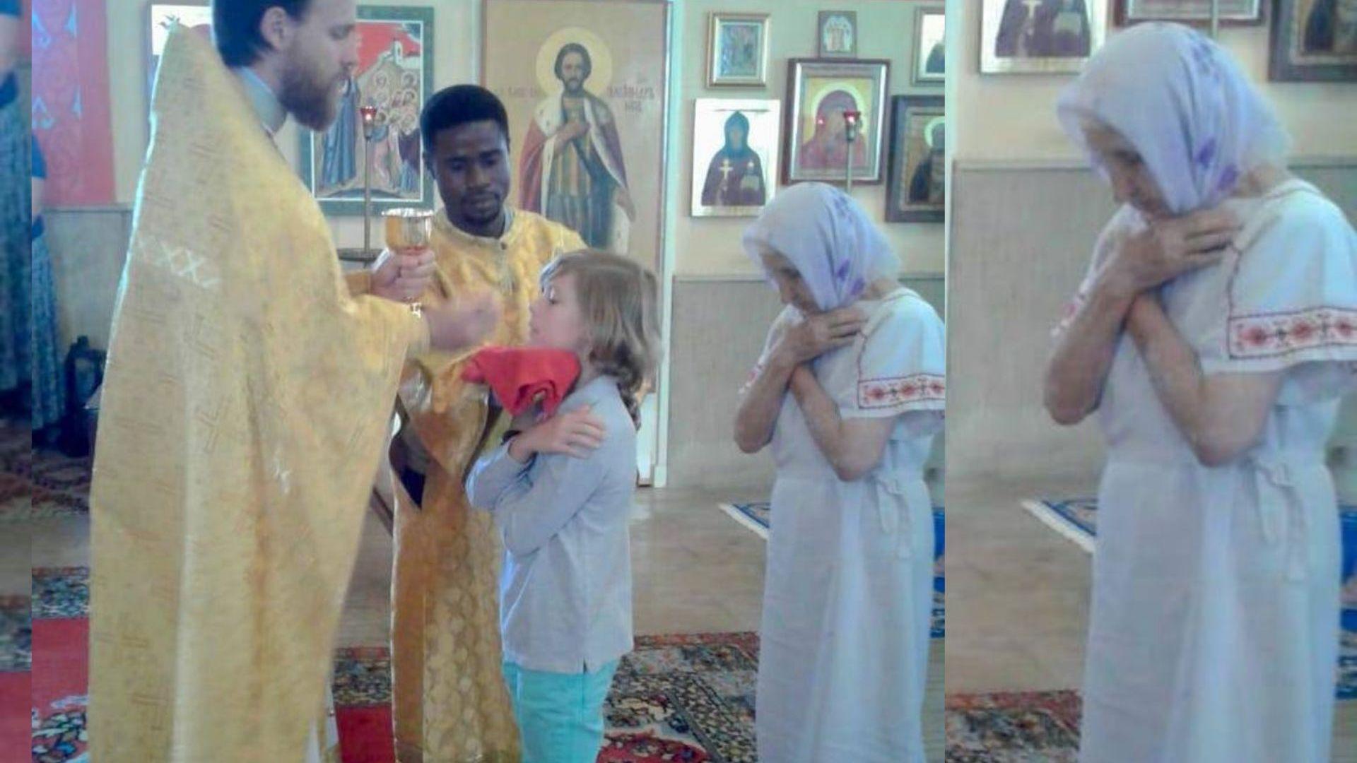 Царският наследник Симеон-Хасан взе първо причастие