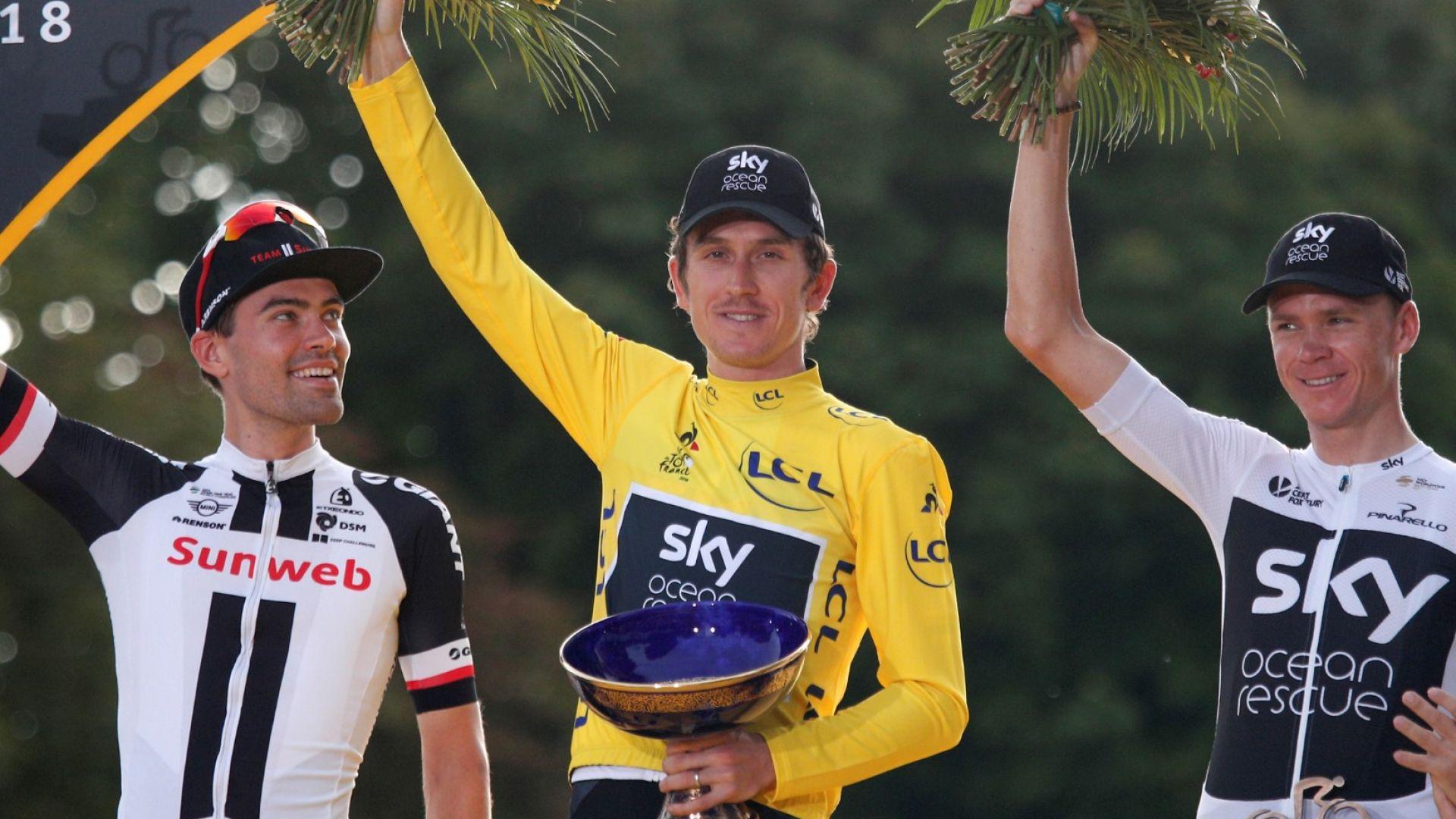 """Откраднаха трофея от победителя на """"Тур дьо Франс"""""""
