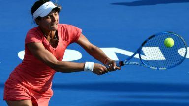 Черногорка спря Томова на турнира в Чарлстън