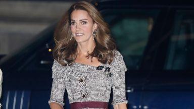 Кейт показа стройна фигура в рокля Erdem