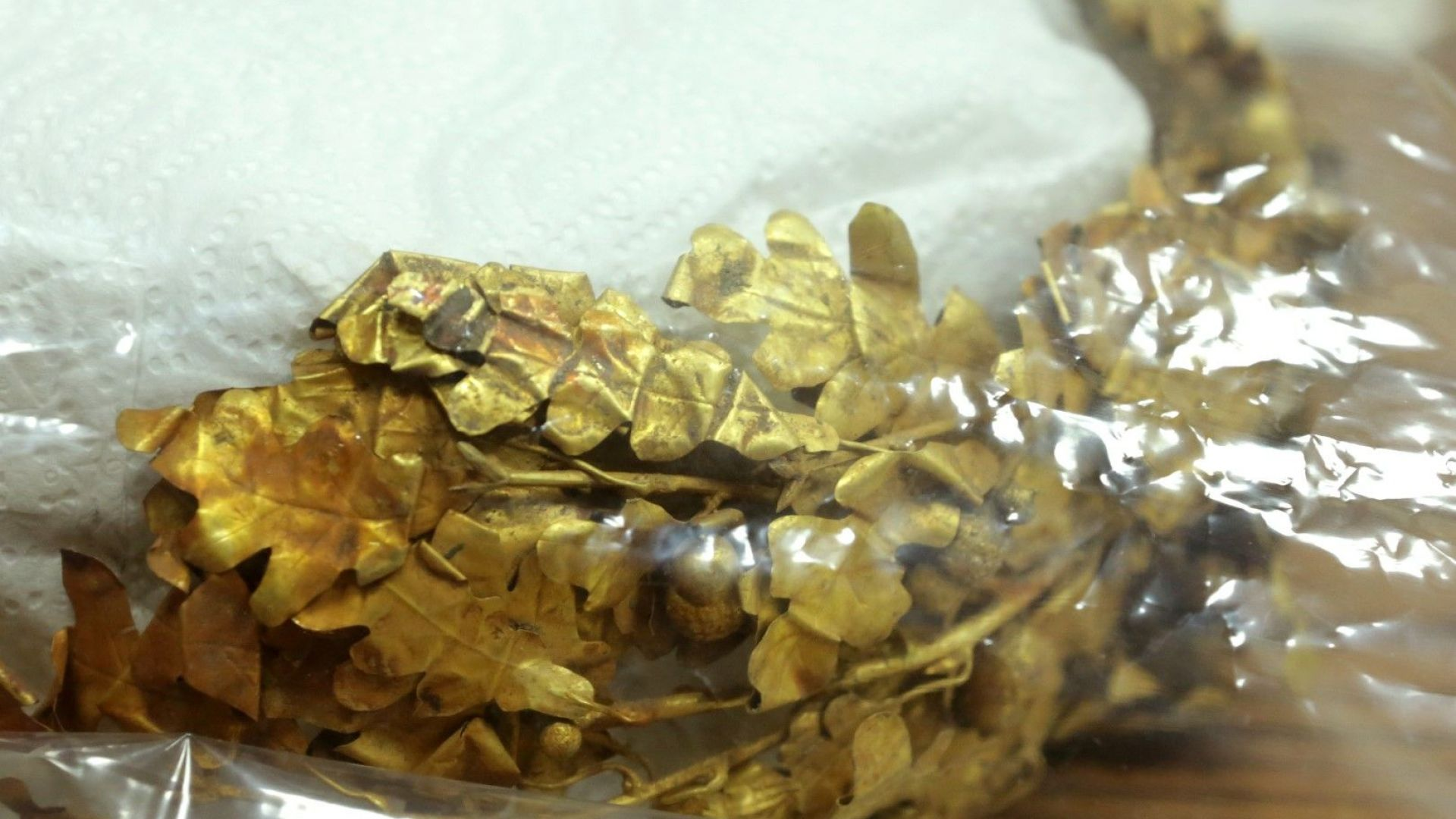 Обвиниха задържания служител на ДАНС и трима иманяри за златното съкровище (видео)