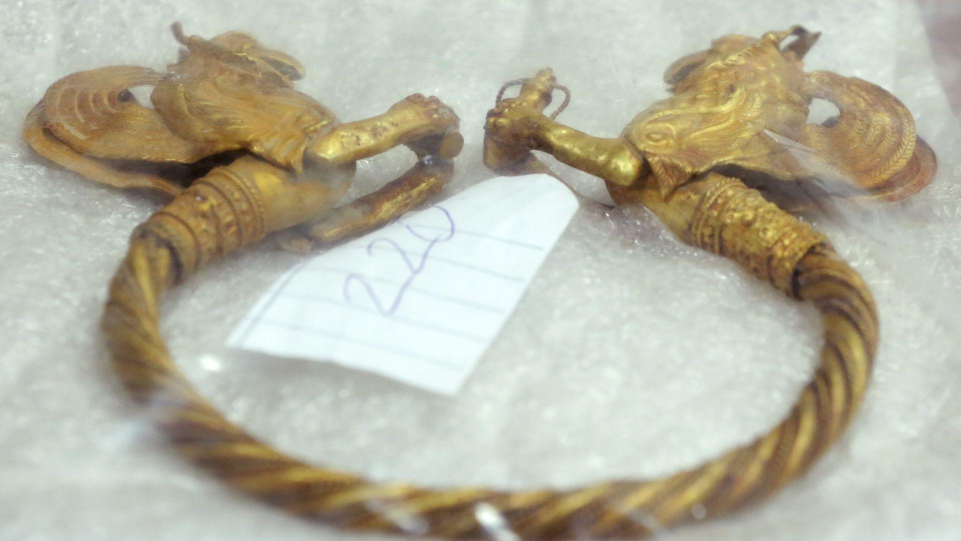 Обвиняем иманяр: Златното съкровище е фалшиво, аз го направих
