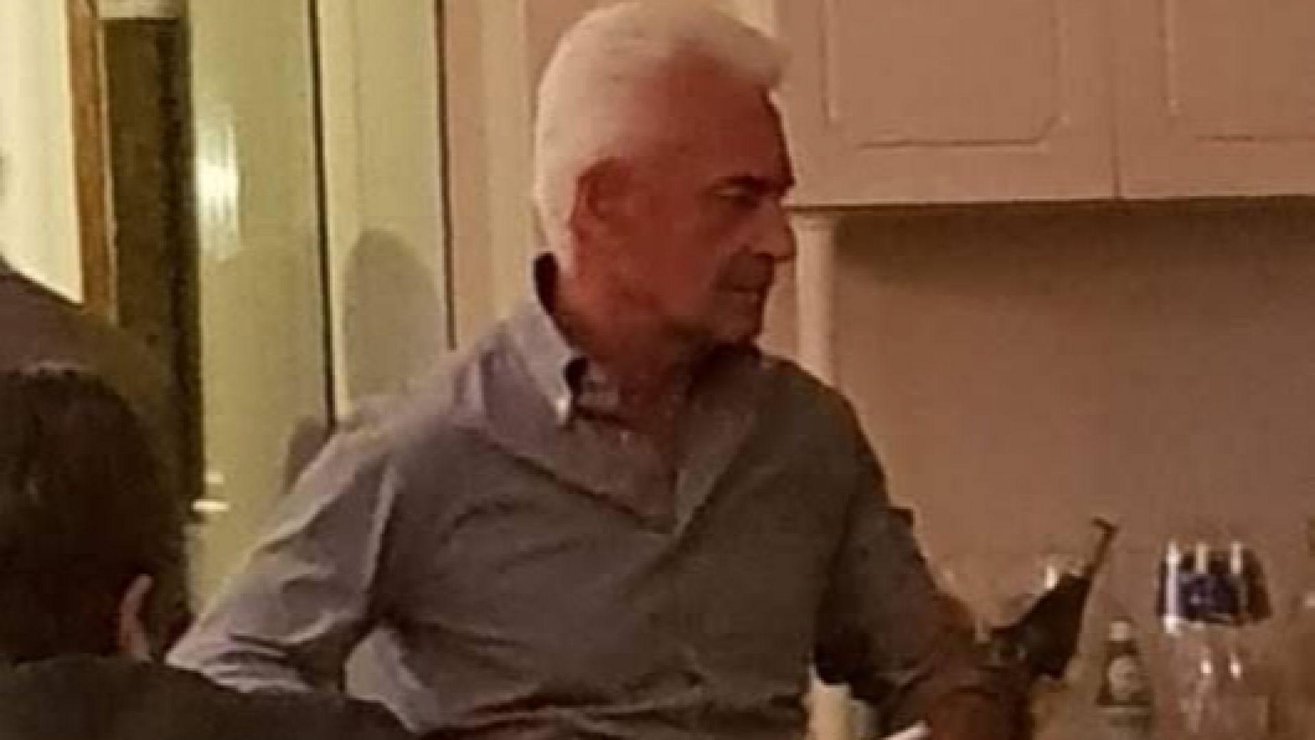 Волен Сидеров се вихри в столичен ресторант (снимки)