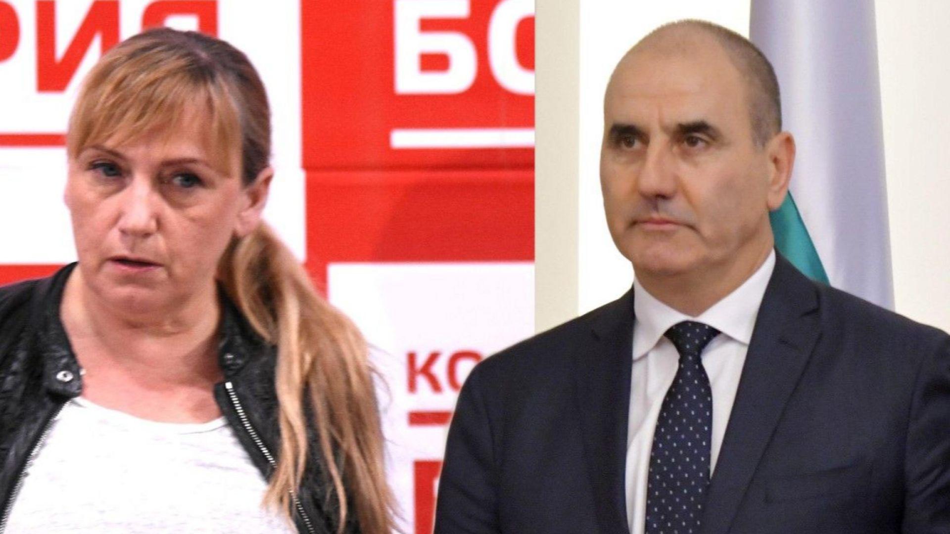 Депутатът от БСП за България и журналист Елена Йончева ще