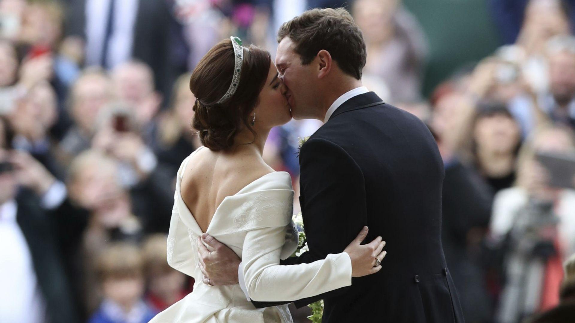 Принцеса Юджени отбеляза първата година от сватбата с емоционално видео