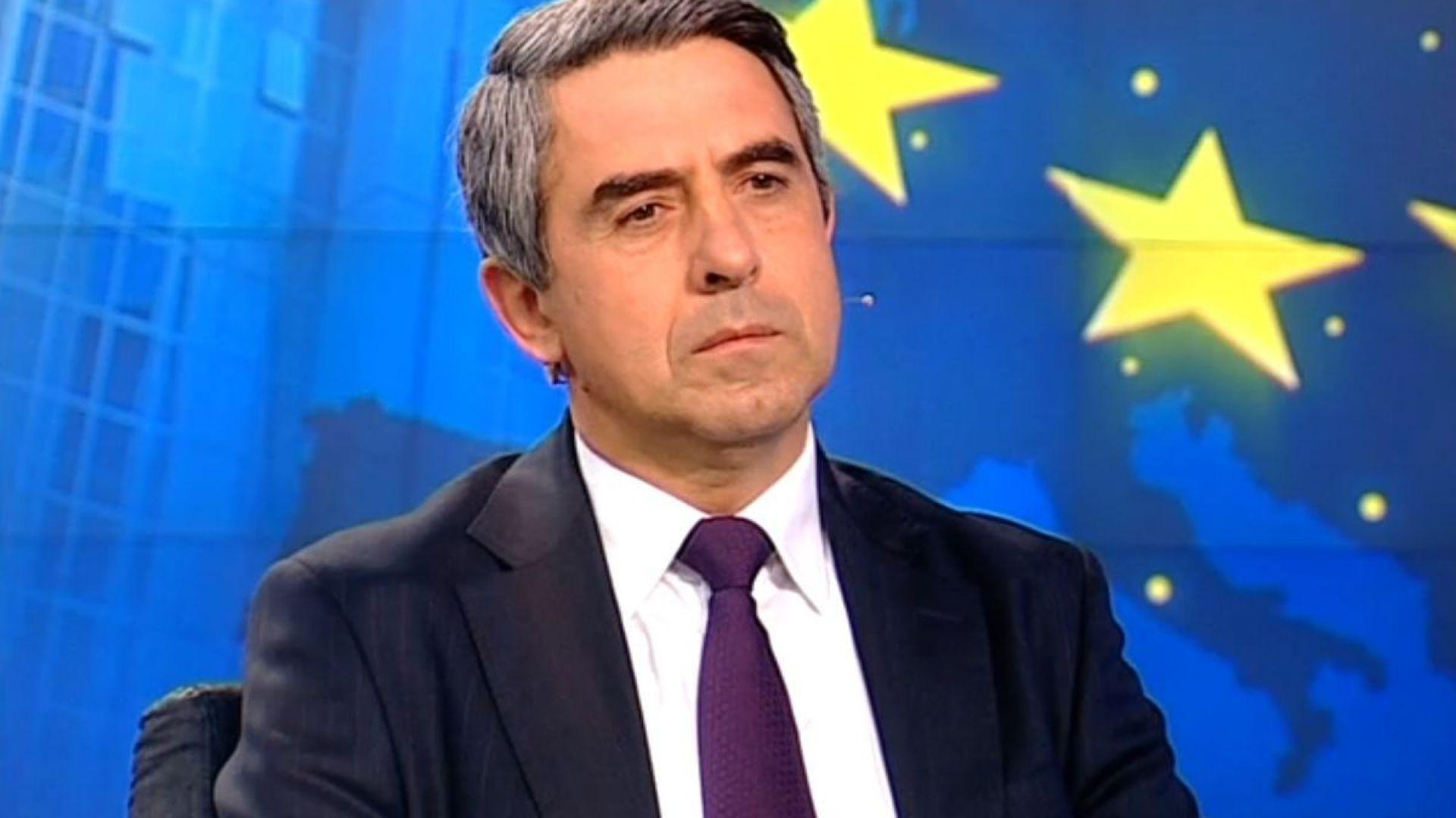 Плевнелиев: България е на път да вземе грешното решение за изтребителите