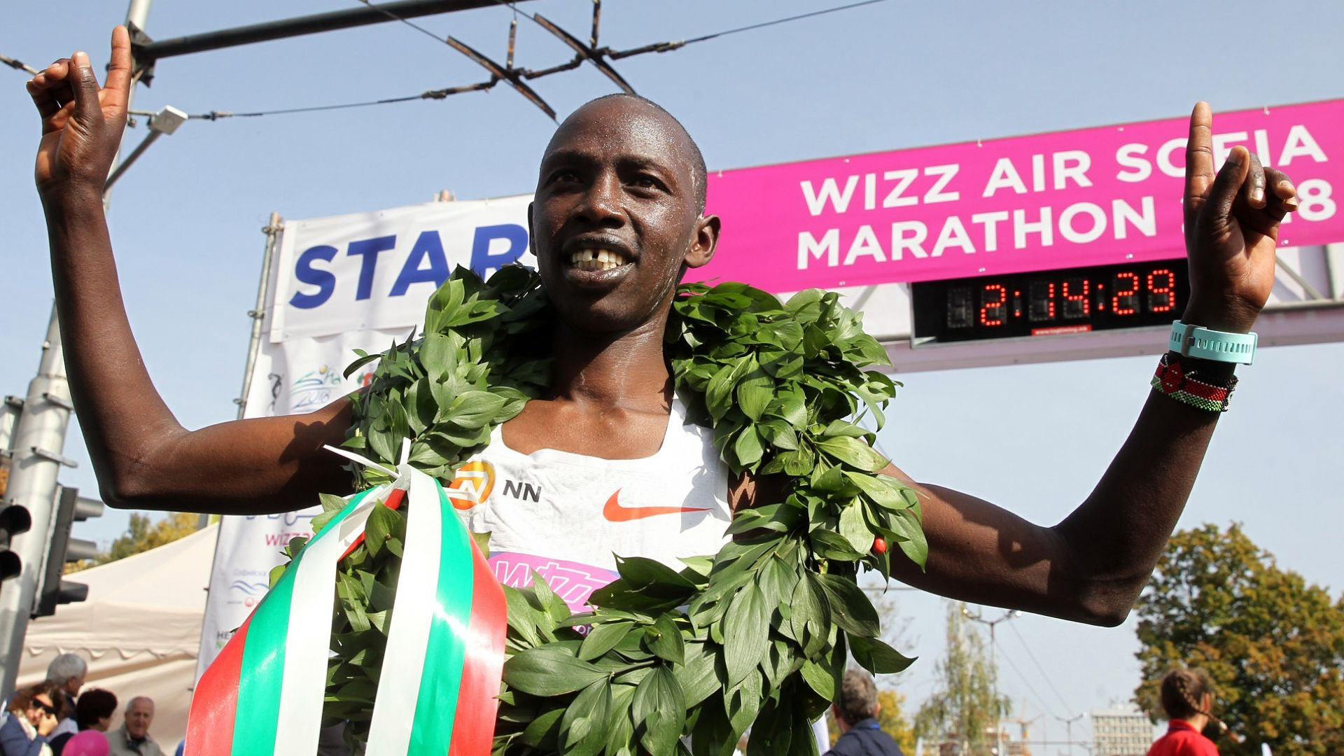 Кениец спечели Софийския маратон с рекордно време