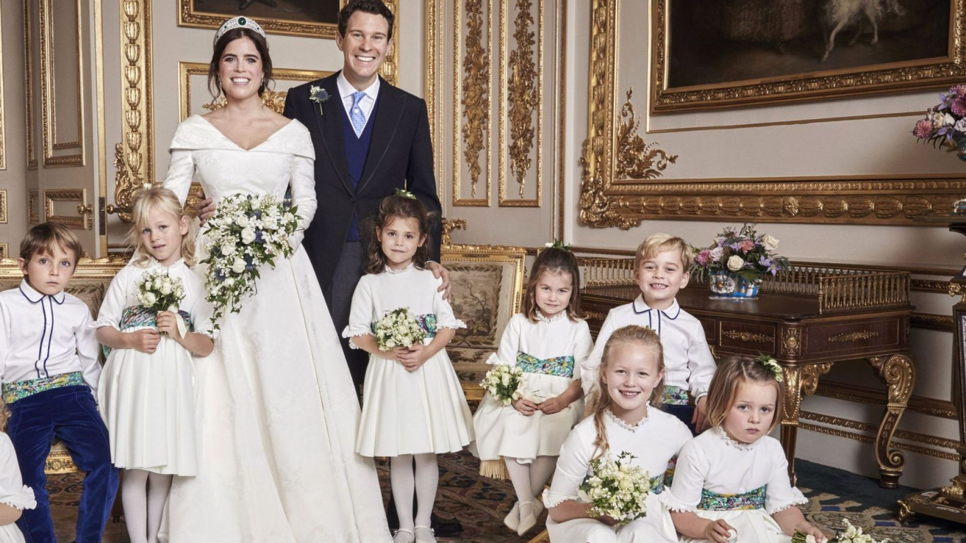 Вижте официалните снимки от сватбата на принцеса Юджени