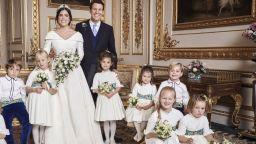 Вижте официалните снимки от сватбата на принцесата