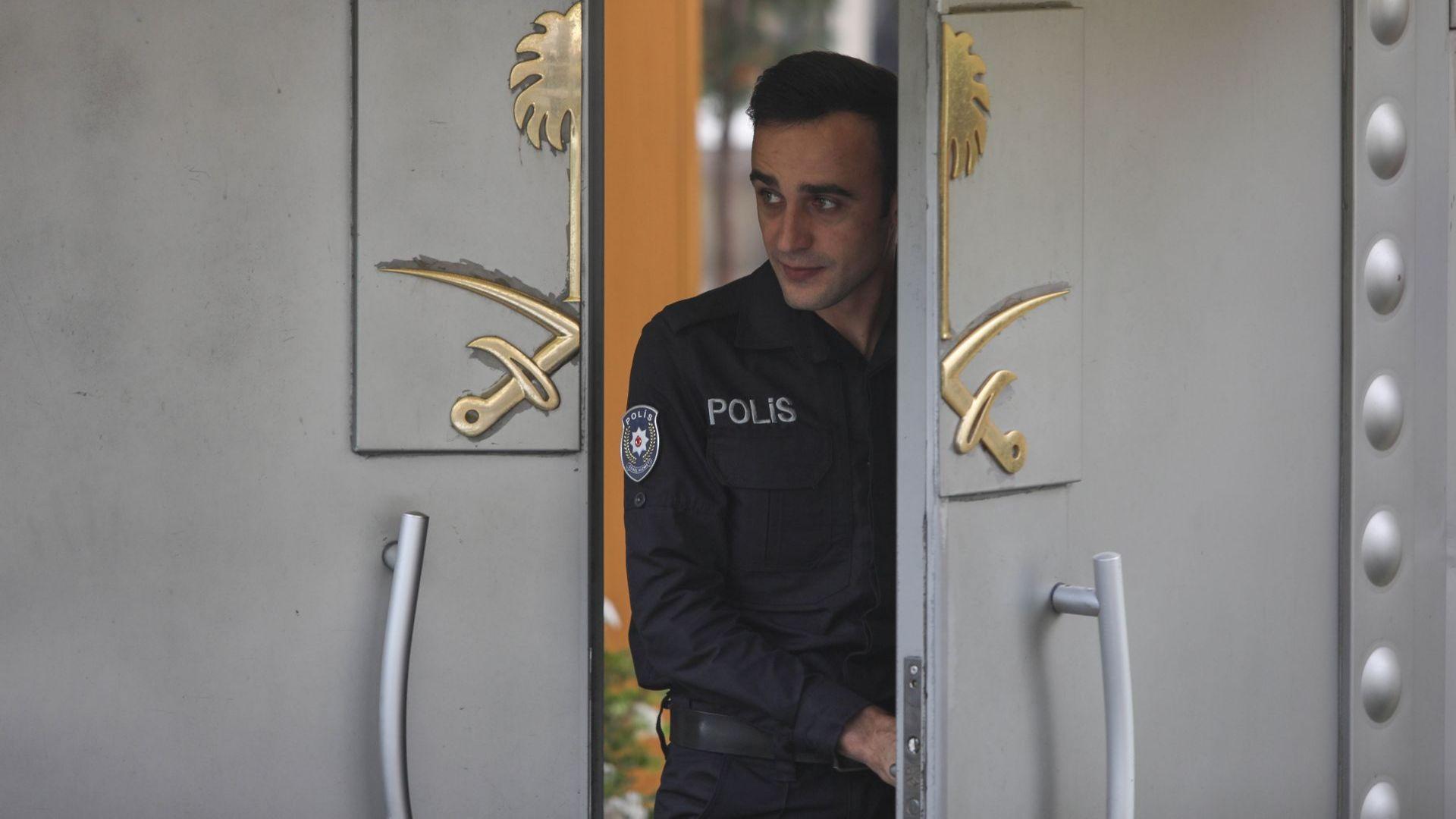 """Случаят """"Кашоги"""": Турски експери ще претърсят саудитското консулство в Истанбул"""