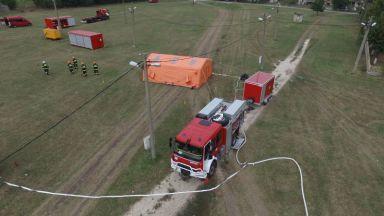 Български пожарникари отиват в Румъния, ще участват в учение
