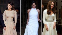 Юджени, Меган, Кейт - вторите сватбени рокли, с които впечатлиха
