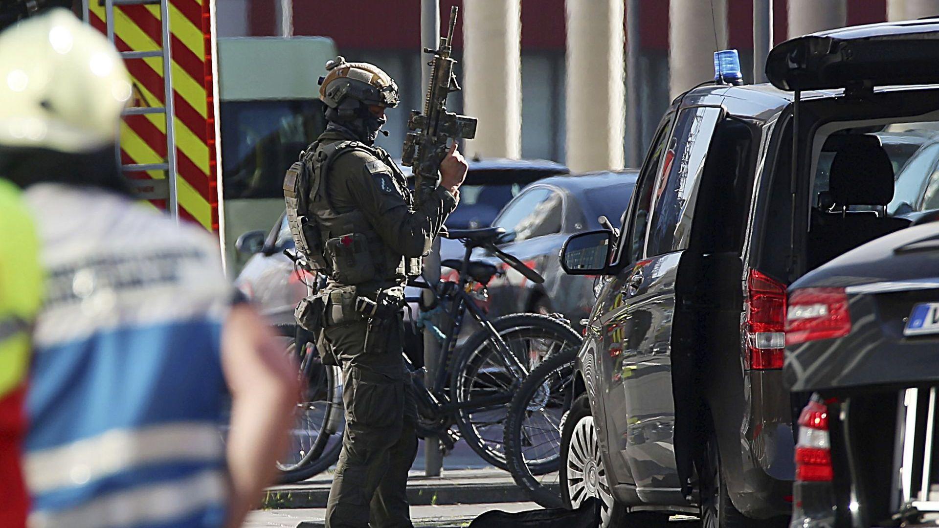 Заложническа криза с успешен край в Кьолн
