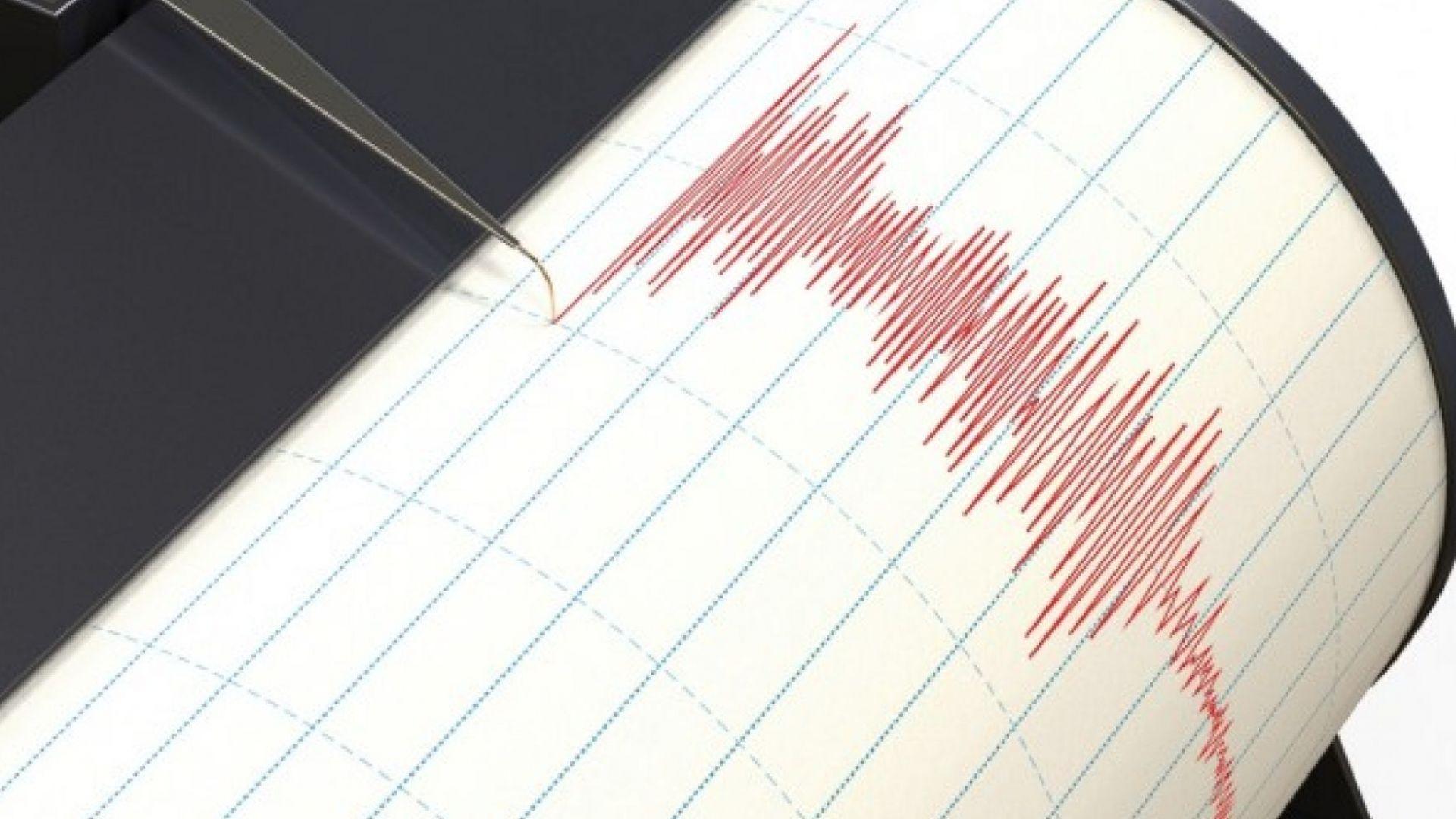 Силно земетресение с магнитуд 5,6 по Рихрет изкара албанците на