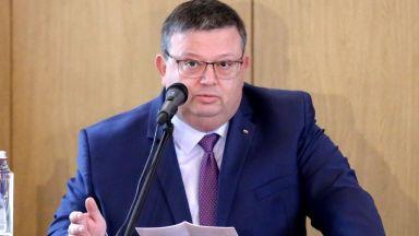 Цацаров: Недопустимо е адвокатски кантори да се ползват за укриване на документи