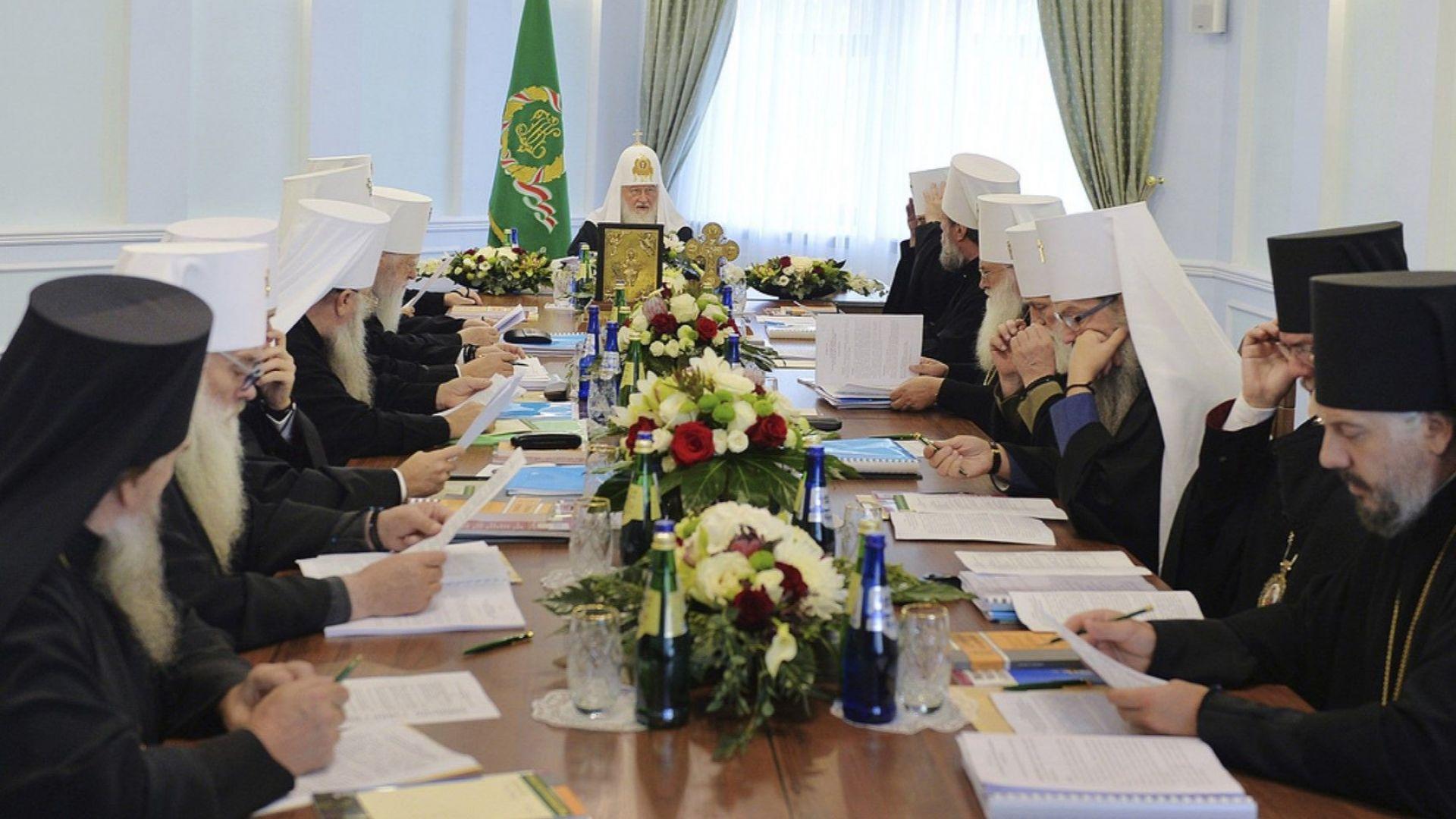 Синодът на Руската православна църква (РПЦ) реши да прекрати изцяло