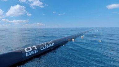 Почистват Голямото тихоокеанско сметище с нова технология