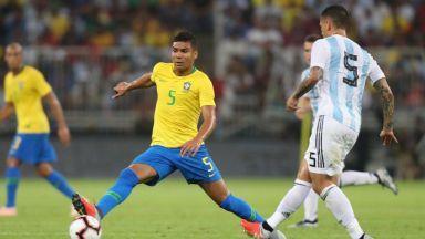 Бразилия шамароса Аржентина с последния удар