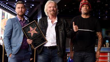 Ричард Брансън за секса, наркотиците и рокендрола на Алеята на славата