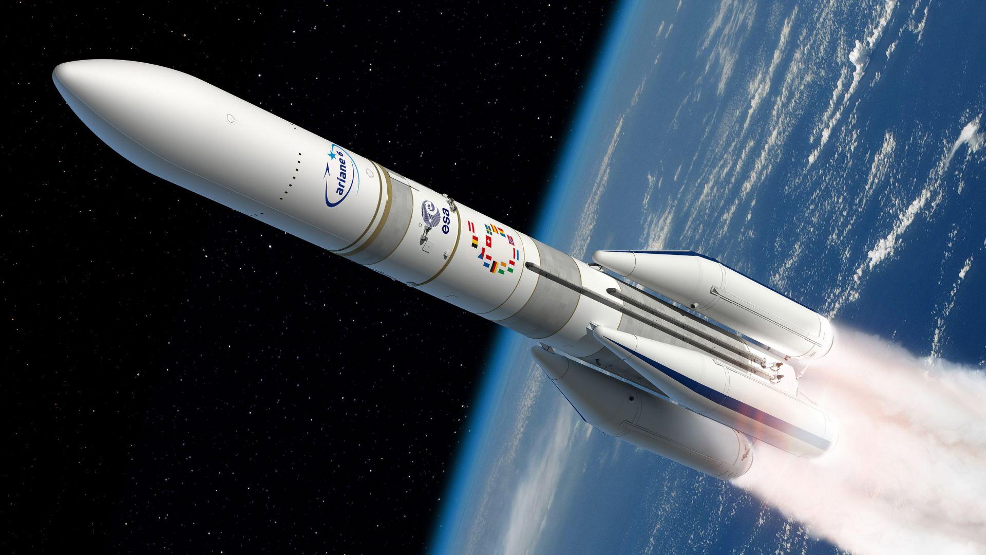 Европа прави ракета за пилотирани полети