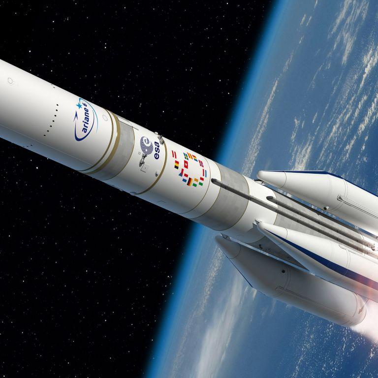 """Отлагат първото изстрелване на ракетата """"Ариана 6"""""""
