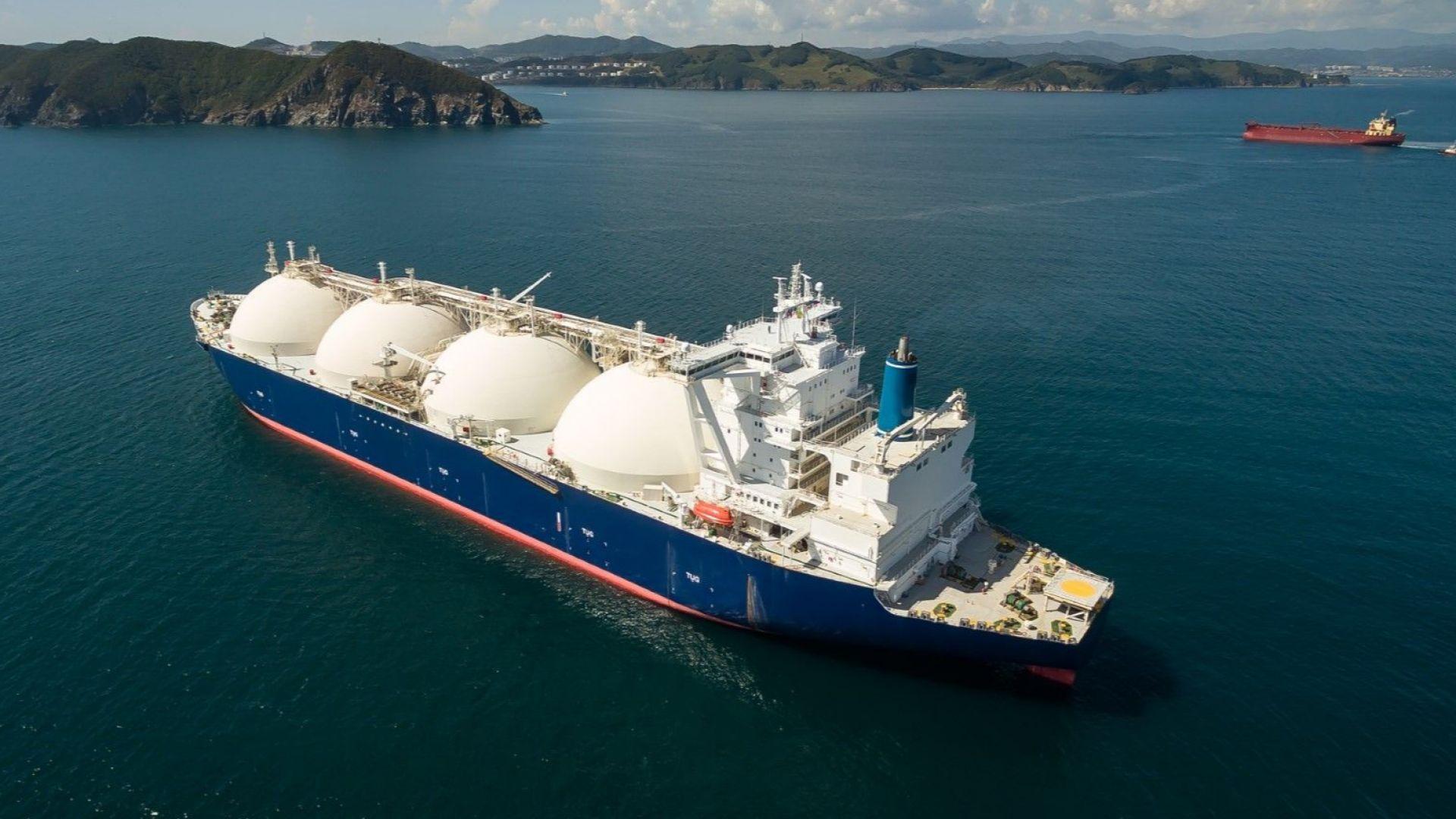 До 2040 г.: Втечненият природен газ ще измести доставяния по газопроводи