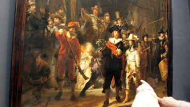 """""""Нощна стража"""" на Рембранд ще бъде реставрирана пред погледа на света"""