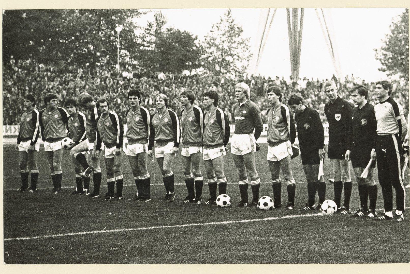 11-те на Юнайтед преди двубоя със Спартак.