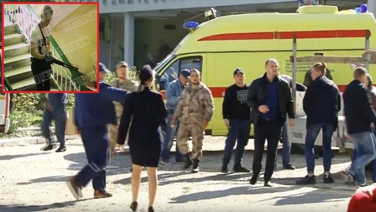 Масовият убиец от Керч сам направил бомбите
