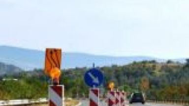 "С 50 км/ ч по АМ ""Тракия"" заради ремонт на надлеза при Цалапица"