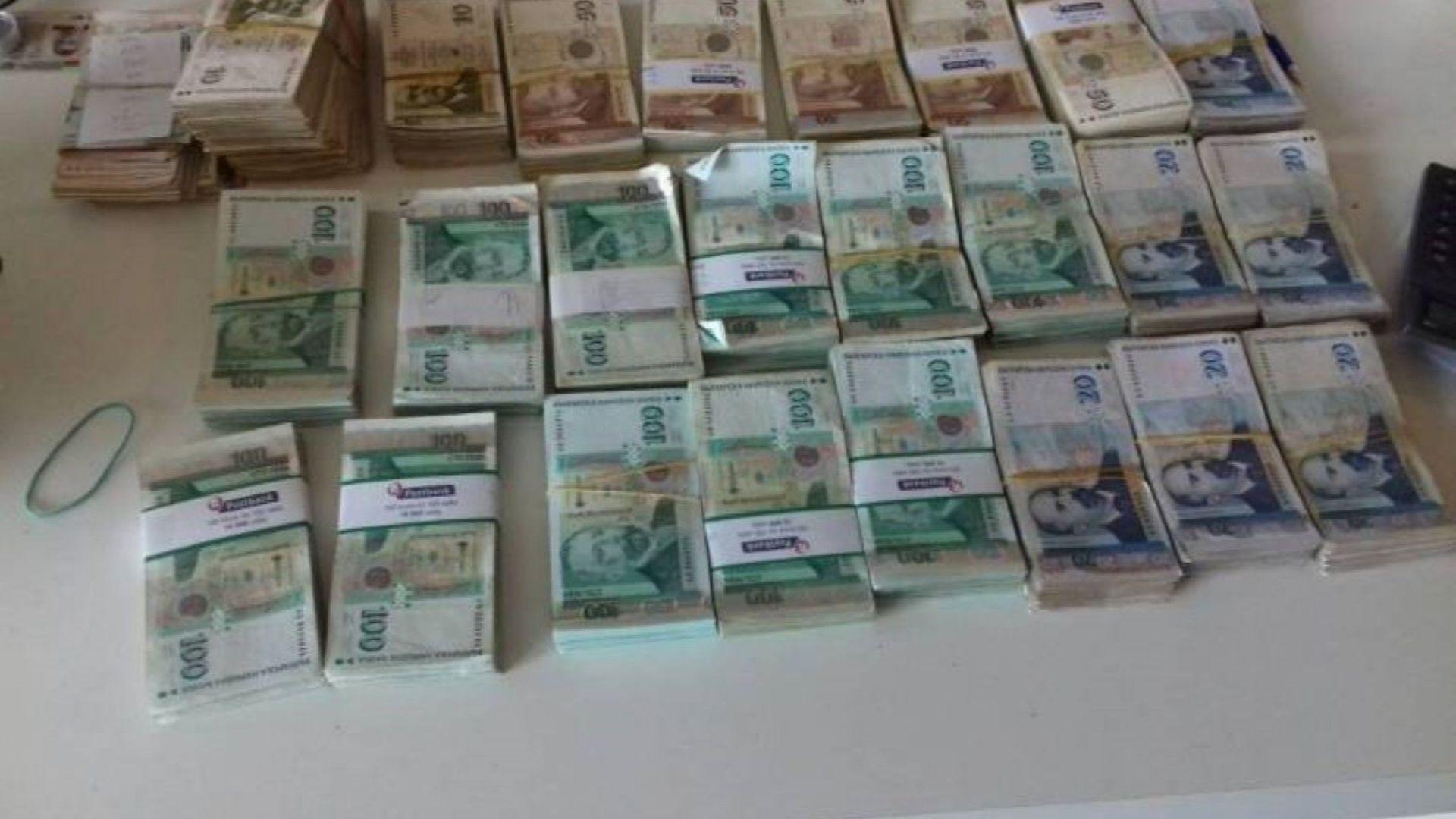 ГДБОП разби банда за данъчни престъпления, откри 150 000 лв.