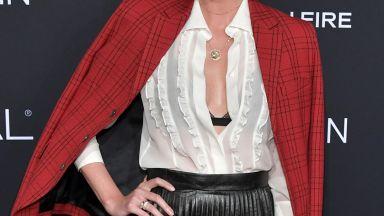 Чарлийз Терон в секси облекло: Това е фасада