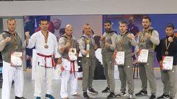 Четири световни титли за родното карате