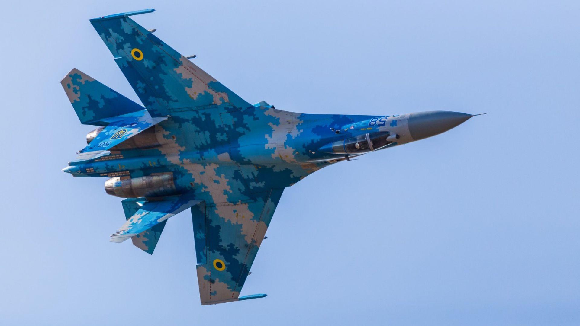 """Как изглежда последният """"полет"""" на Су-27"""
