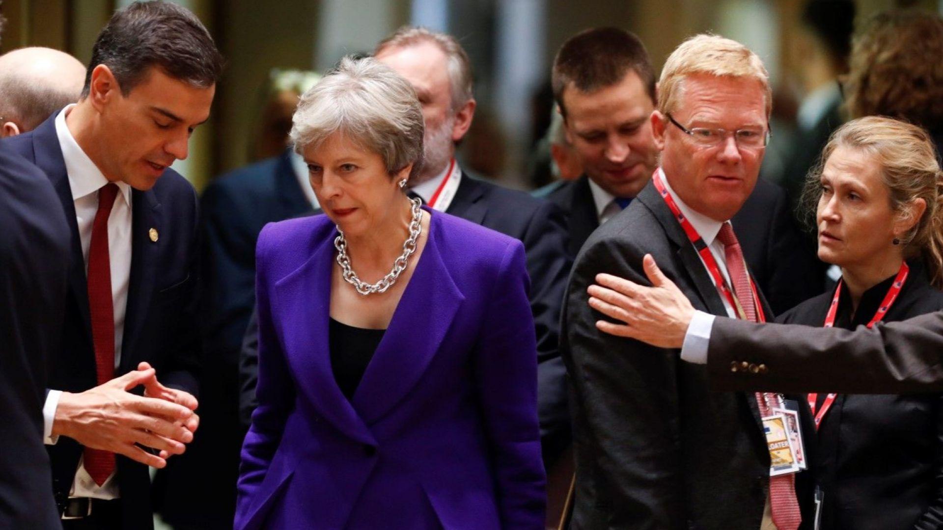 Британската министър-председателка Тереза Мей днес даде знак, че ще обмисли