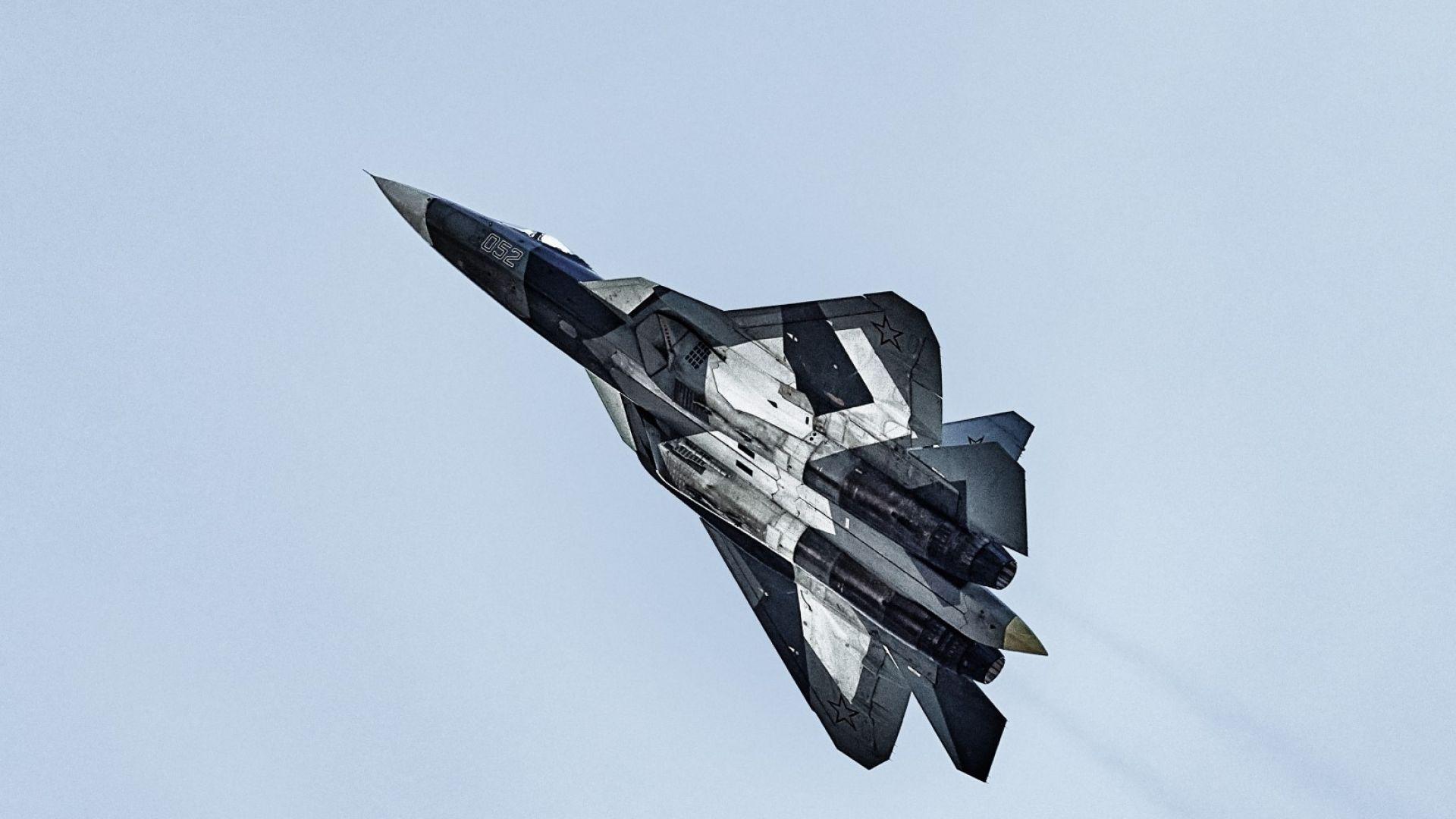 Русия показва конкурента на F-35