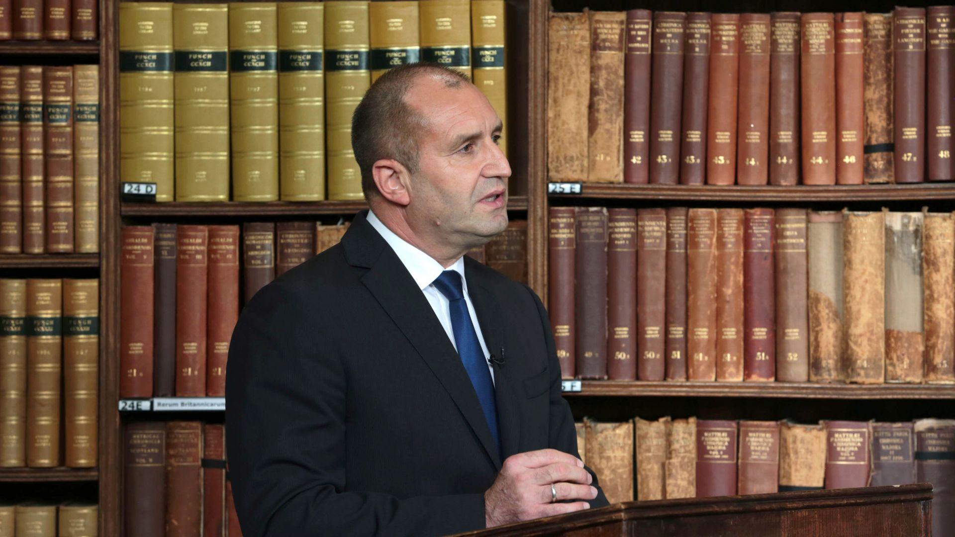 Румен Радев в Оксфорд: Европа днес сама ограничава своята политика за сигурност
