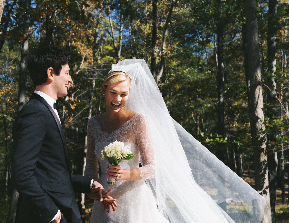 сватбата на Карли Клос и Джошуа Кършнър