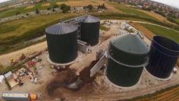 Село Труд пак на протест срещу централата за биогаз