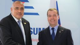"""Борисов обсъди с Медведев газовия хъб """"Балкан"""""""