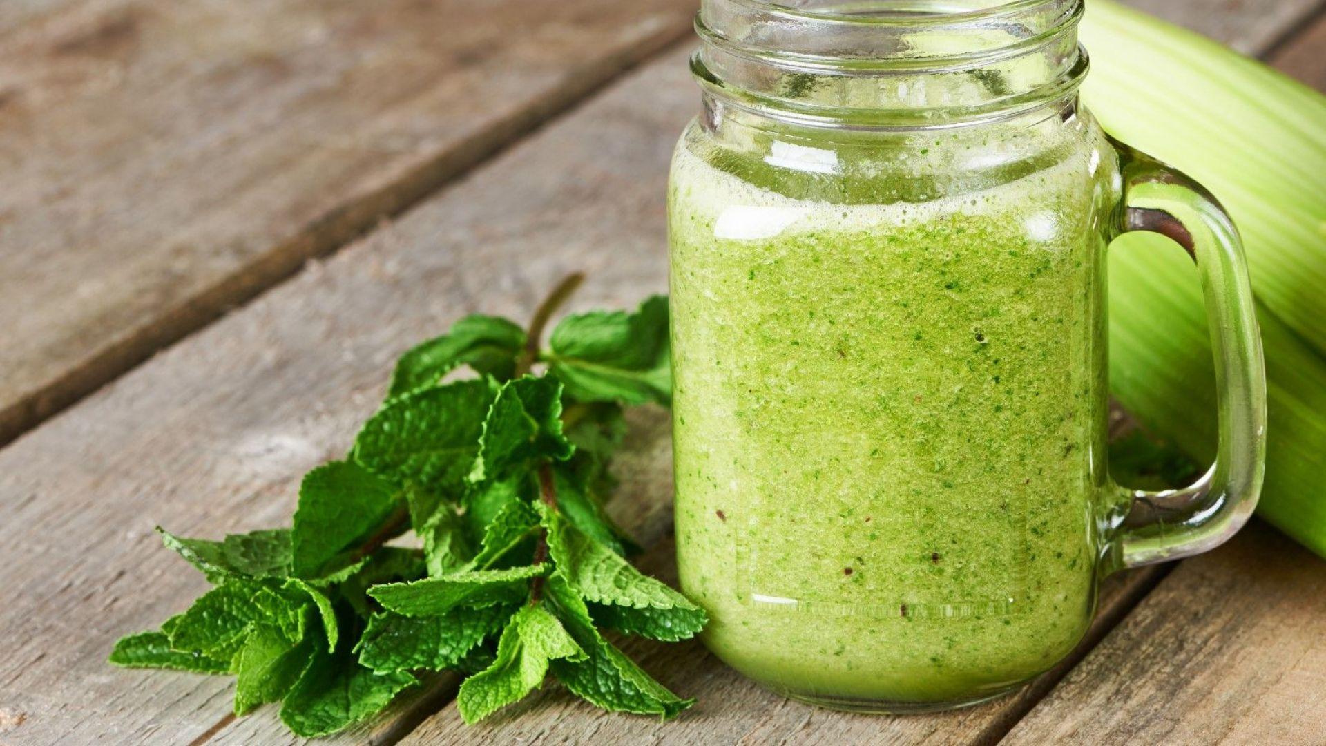 Страхотен зелен сок за по-хубава кожа