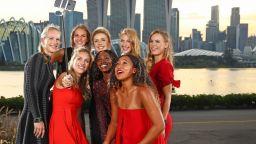 Най-добрите тенисистки показаха красота и класа (галерия)