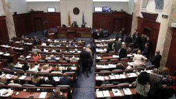Македонският парламент прие новото име на страната