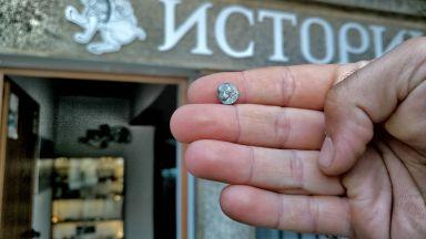 Сребърен обол на Месамбрия открит в Хераклея Синтика