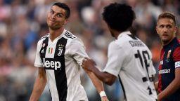 Юве загуби първи точки, гол на Кристиано не стигна